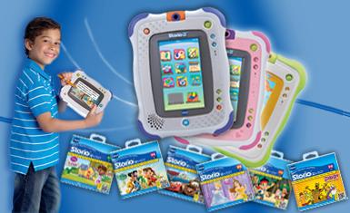 Les jeux éducatifs pour tablette Storio